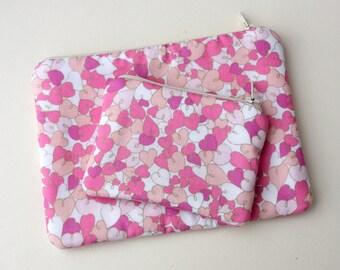 Hearts Cosmetics / Make up Bag & Purse