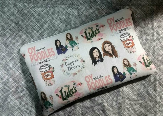 Gilmore Girls Large Zippered Pouch | Gilmore Girls Gift Guide