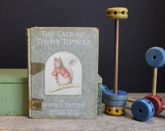 1911  First Edition Beatrice Potter The Tale of Timmy Tiptoes