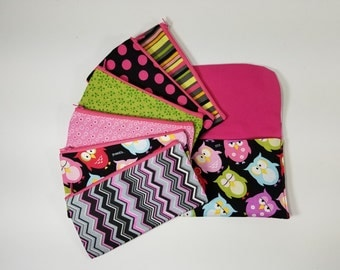 Budget Envelope System, Cash Envelope Wallet -Fun Owls (It can be used with the Dave Ramsey system)