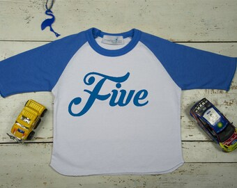 5 year old birthday shirt - 5th birthday shirt - Boys Fifth birthday - 5 year old boy-Kids clothes- Five shirt- Kids clothing- 6t- Childrens