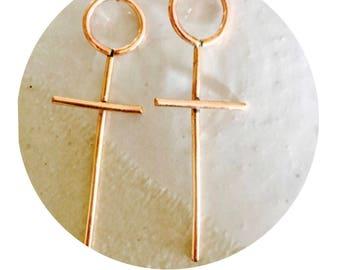 The Gold Hunter Earrings