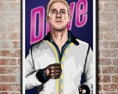 Drive and customized Fight Club 24x36