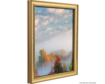 craig frames 13x19 inch aged gold picture frame stratton 75 wide 314gd1319