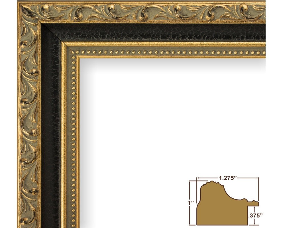 Craig frames 18x24 inch antique gold and black picture frame sold by craigframes jeuxipadfo Gallery