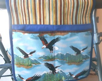 Walker Tote, Walker Caddy, Walker Bag, Blue Eagle Design