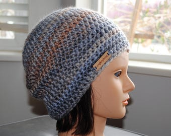 SALE 20% off- Dancing Lessons Merino Combed Top hand spun crochet hat