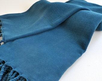Turkish Towel Set Peshtemal towel and hand towel Cotton Stone washed waffle pattern towel set