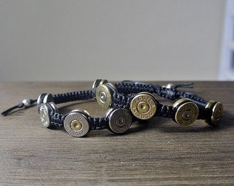 HOLIDAY SALE Bullet Jewelry - Silver Bullet .45 Caliber Shell Casing Bracelet - As Seen at GBK's 2016 Mtv Movie Award Celebrity Gift Lounge