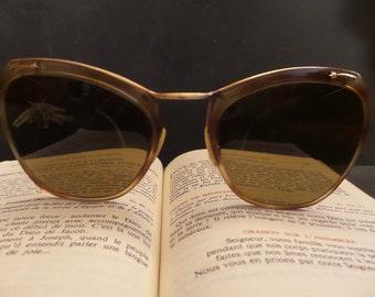 1950S French Retro Rockabilly Glasses. Vintage Retro Sunglasses