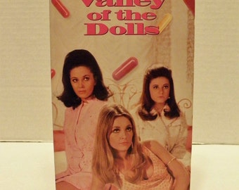 Valley of the Dolls VHS Video Tape Box Case 30th Anniversary Sharon Tate Patty Duke Barbara Parkins Susan Hayward Pre-owned