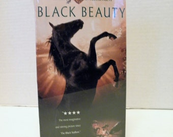 Black Beauty VHS Video Tape 1994 Box New Factory Sealed