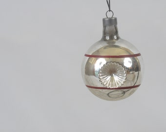Vintage Christmas Ornament Glass Christmas  Ornament 524
