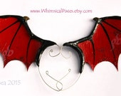 Custom Dragon Ear Fins, Winged Ear Cuff for Dragon Costumes and Cosplay, Ear Wings, Dragon Wings