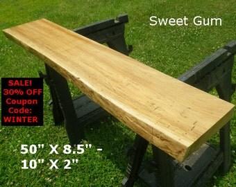 Wood slab table etsy for Finished wood slabs