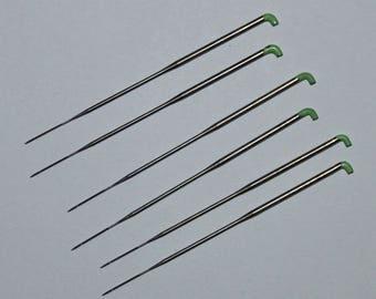 42 Gauge Triangle Felting Needles (Lime)
