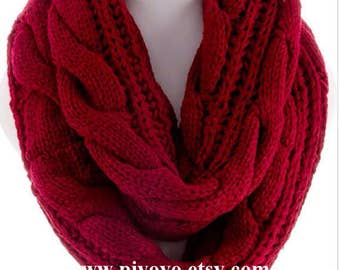 Top Best selling shops item items, Infinity knit scarf scarves, knitted winter scarf scarfs, womens scarves, PiYOYO