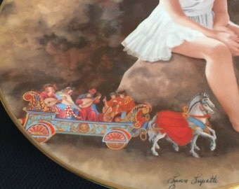 Vintage Lynn Lupetti Collector Plate