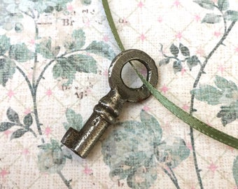 Tiny Little Victorian Era Iron Key