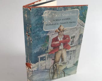 Vintage Children's Book - The Doll Snatchers - 1969 - Illustrated - Mystery - Young Adult