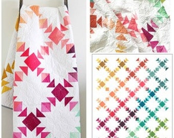Prism Quilt Kit Ombre's by V and Co -