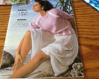 SUNSHINE KNITS  - Patons - Knitting Patterns Booklet
