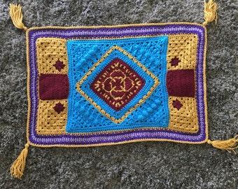 Crochet Magic Carpet Blanket