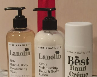Utopia Lanolin Skincare Set