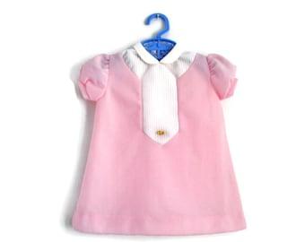 Vintage Baby Dress, Baby Dress, Pink Baby Dress, Vintage Baby Clothes, Baby Girl Dress, Toddler Dress