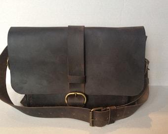Women Handbag/Leather Shoulder And Crossbody Bag/Women briefcase Bag/Dark Purple shoulder purse/handmade leather bag/Women accessories