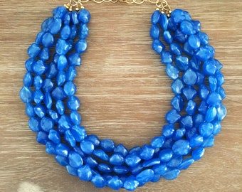 The Tulum Necklace Gorgeous Sea Blue Necklace