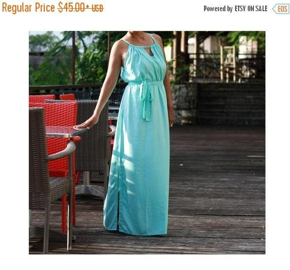 Summer dresses blue turquoise womens dresses wedding party dresses