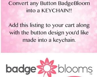 Cute Keychains - Unique Keychains - Decorative Keychains - Funny Keychains - Nurse Keychsins - SLP Keychains - Key Chains - BadgeBlooms