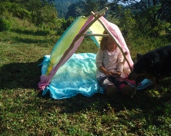 Baby Gym / Play tent for babies / Wiwiurka /