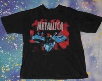 METALLICA ReLoad Metal Rock T-Shirt Size L