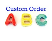 Ceramic Letters Mosaic Tiles for Debby - 9 characters