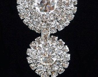 Rhinestone Brooch Pin - Rhinestone Crystal Brooch - Rhinestone Brooch - Classic Brooch