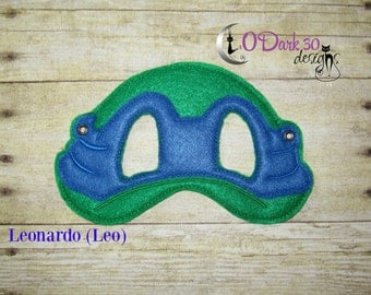 Leonardo (Leo) ** TMNT Inspired Childrens Dress Up Mask