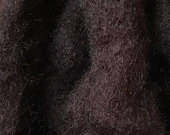 Felting Wool - Hand Dyed - Needle Felting Wool - Spinning Wool - Corriedale/Romney Wool - Cabernet