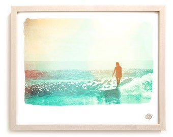 "Surf Art Limited Edition Photo Print ""Wash"""