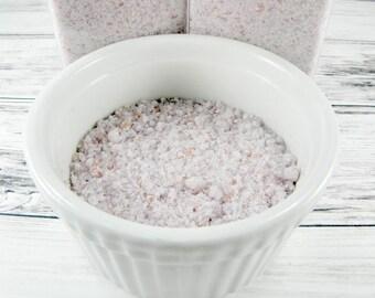 Lavender Milk Bath Salts-bath-sea salt-goats milk-relaxation gifts-wholesale bath salts-lavender-gift shop-gift women-gift for her