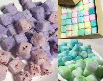 Bulk Sugar Cubes  Half Pound Bag for Tea Parties, Champagne Toasts, Tea Bars, Coffee, DIY Favors, Candy Bars, Gift Ideas