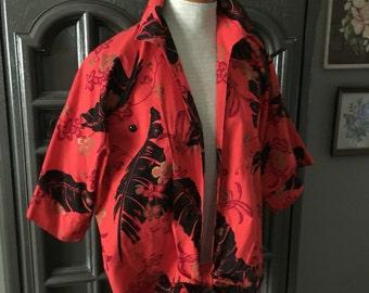 50s Waikiki Tie Front Cabana Shirt