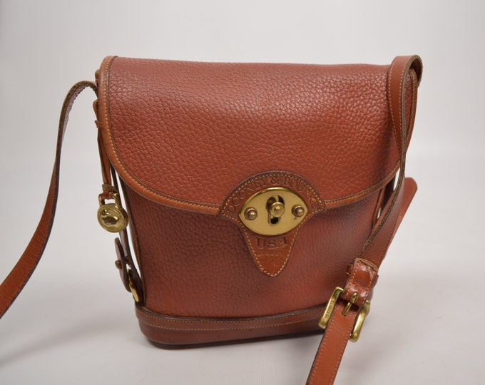 Dooney & Bourke All Weather Leather Cavalry Spectator Bag