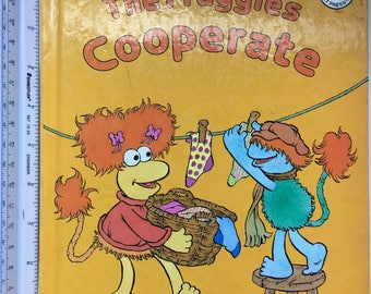 Vintage The Fraggles Cooperate by Harry Ross created from the characters on the show Fraggle Rock by Jim Henson!