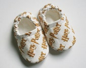 Harry Potter baby/toddler cotton slippers. Grip tight soles for 9 months up. Made to order.