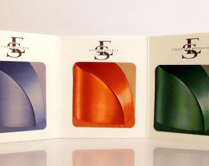 Vintage 1990s Escada Sport Triple Fragrance Sample Towelette Packet PERFUME