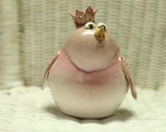 Ceramic Bird, Hand Made Ceramic Bird, Ceramic For Garden, Ceramics And Pottery, Garden Decoration, Home Decor