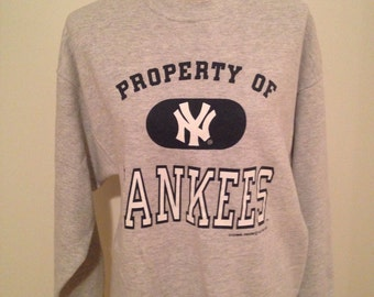 SALE! Vintage New York Yankees Sweatshirt 1996
