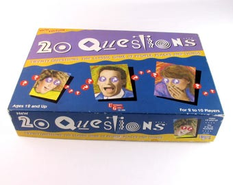 20 questions game instructions